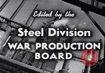 Image of making of steel United States USA, 1943, second 16 stock footage video 65675031503