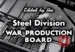 Image of making of steel United States USA, 1943, second 17 stock footage video 65675031503