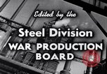 Image of making of steel United States USA, 1943, second 19 stock footage video 65675031503