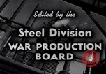 Image of making of steel United States USA, 1943, second 21 stock footage video 65675031503