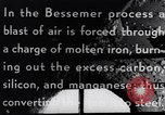 Image of Bessemer Converter United States USA, 1943, second 12 stock footage video 65675031507