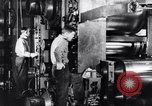 Image of steel sheet factory in World War 2 United States USA, 1943, second 20 stock footage video 65675031513
