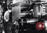 Image of steel sheet factory in World War 2 United States USA, 1943, second 22 stock footage video 65675031513