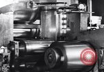 Image of steel sheet factory in World War 2 United States USA, 1943, second 23 stock footage video 65675031513