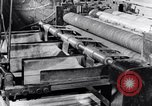 Image of steel sheet factory in World War 2 United States USA, 1943, second 40 stock footage video 65675031513