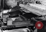 Image of steel sheet factory in World War 2 United States USA, 1943, second 43 stock footage video 65675031513