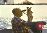 Image of Using sextant on oceanic survey vessel Pacific Ocean, 1963, second 1 stock footage video 65675031523