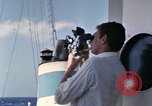 Image of Using sextant on oceanic survey vessel Pacific Ocean, 1963, second 12 stock footage video 65675031523