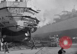 Image of Shipyard United States USA, 1940, second 27 stock footage video 65675031524