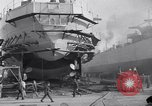Image of Shipyard United States USA, 1940, second 28 stock footage video 65675031524