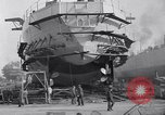 Image of Shipyard United States USA, 1940, second 30 stock footage video 65675031524