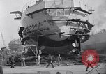 Image of Shipyard United States USA, 1940, second 31 stock footage video 65675031524