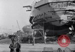 Image of Shipyard United States USA, 1940, second 34 stock footage video 65675031524