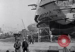 Image of Shipyard United States USA, 1940, second 35 stock footage video 65675031524