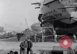 Image of Shipyard United States USA, 1940, second 36 stock footage video 65675031524