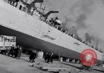 Image of Shipyard United States USA, 1940, second 41 stock footage video 65675031524