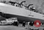 Image of Shipyard United States USA, 1940, second 42 stock footage video 65675031524
