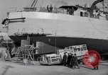 Image of Shipyard United States USA, 1940, second 45 stock footage video 65675031524