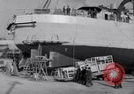 Image of Shipyard United States USA, 1940, second 46 stock footage video 65675031524