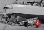 Image of Shipyard United States USA, 1940, second 47 stock footage video 65675031524
