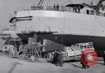 Image of Shipyard United States USA, 1940, second 48 stock footage video 65675031524