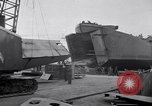 Image of Shipyard United States USA, 1940, second 59 stock footage video 65675031524