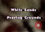 Image of White Sands National Monument Alamogordo New Mexico USA, 1945, second 12 stock footage video 65675031541