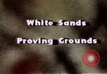 Image of White Sands National Monument Alamogordo New Mexico USA, 1945, second 13 stock footage video 65675031541