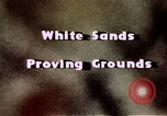 Image of White Sands National Monument Alamogordo New Mexico USA, 1945, second 14 stock footage video 65675031541