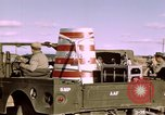 Image of V-2 rocket Alamogordo New Mexico USA, 1945, second 15 stock footage video 65675031546
