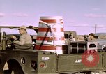 Image of V-2 rocket Alamogordo New Mexico USA, 1945, second 17 stock footage video 65675031546