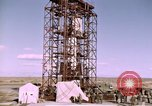 Image of V-2 rocket Alamogordo New Mexico USA, 1945, second 23 stock footage video 65675031546