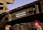 Image of V-2 rocket Alamogordo New Mexico USA, 1945, second 38 stock footage video 65675031546