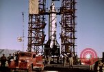 Image of V-2 rocket Alamogordo New Mexico USA, 1945, second 40 stock footage video 65675031546