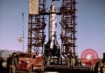 Image of V-2 rocket Alamogordo New Mexico USA, 1945, second 41 stock footage video 65675031546