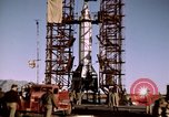 Image of V-2 rocket Alamogordo New Mexico USA, 1945, second 42 stock footage video 65675031546