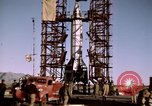 Image of V-2 rocket Alamogordo New Mexico USA, 1945, second 43 stock footage video 65675031546