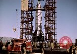 Image of V-2 rocket Alamogordo New Mexico USA, 1945, second 44 stock footage video 65675031546
