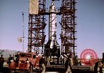 Image of V-2 rocket Alamogordo New Mexico USA, 1945, second 45 stock footage video 65675031546