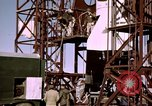 Image of V-2 rocket Alamogordo New Mexico USA, 1945, second 46 stock footage video 65675031546