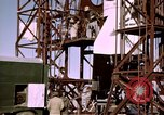 Image of V-2 rocket Alamogordo New Mexico USA, 1945, second 49 stock footage video 65675031546