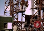 Image of V-2 rocket Alamogordo New Mexico USA, 1945, second 52 stock footage video 65675031546