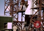 Image of V-2 rocket Alamogordo New Mexico USA, 1945, second 53 stock footage video 65675031546