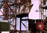 Image of V-2 rocket Alamogordo New Mexico USA, 1945, second 62 stock footage video 65675031546