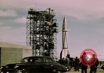 Image of V-2 rocket New Mexico United States USA, 1945, second 44 stock footage video 65675031550