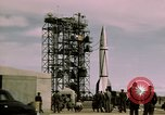 Image of V-2 rocket New Mexico United States USA, 1945, second 45 stock footage video 65675031550
