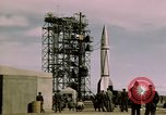 Image of V-2 rocket New Mexico United States USA, 1945, second 46 stock footage video 65675031550
