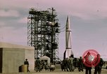 Image of V-2 rocket New Mexico United States USA, 1945, second 47 stock footage video 65675031550