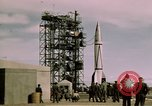 Image of V-2 rocket New Mexico United States USA, 1945, second 48 stock footage video 65675031550