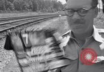 Image of Railroad safety United States USA, 1951, second 7 stock footage video 65675031555